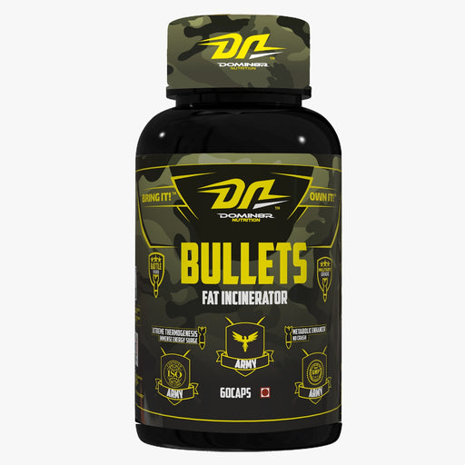 DOMIN8R-BULLETS-Fat Incinerator 60 capsules