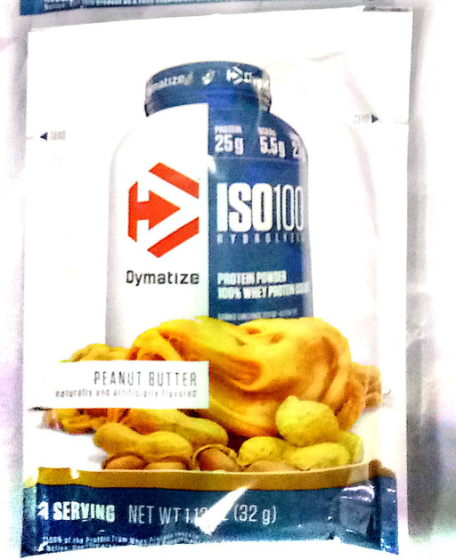Dymatize Iso100 Hydrolyzed Sample