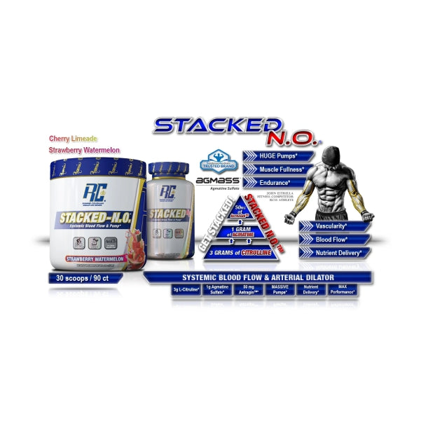 Ronnie Coleman (RC) Stacked N.O