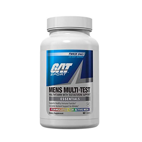 GAT - Mens Multi+Test 60 Tablets