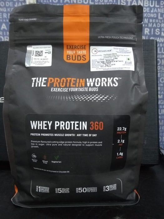 WHEY PROTEIN 360 EXTREME-1.2Kg - fitness trends