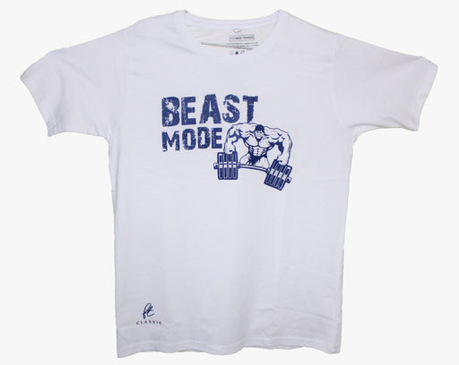 Beast Mode Round Neck Gym Tee
