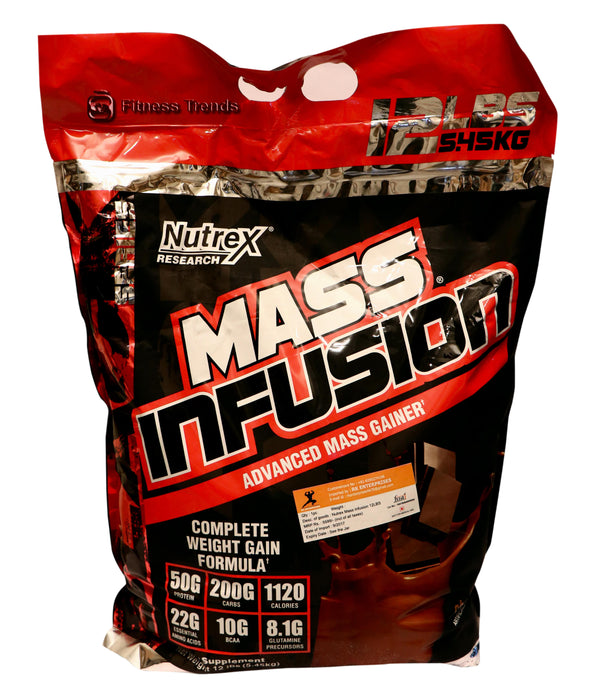 Nutrex Mass Infusion - fitness trends
