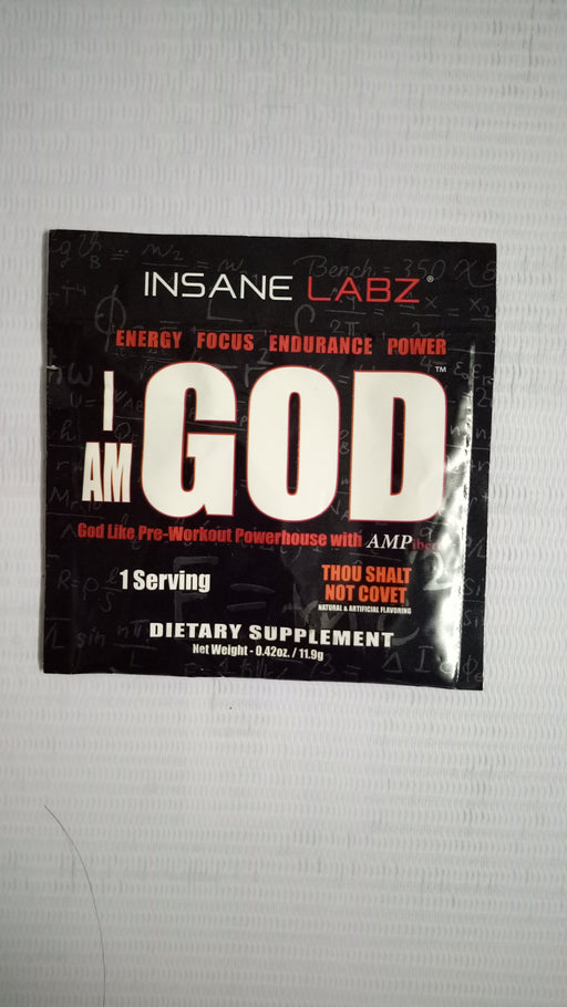 Insane Labz-I AM GOD-Pre-Workout
