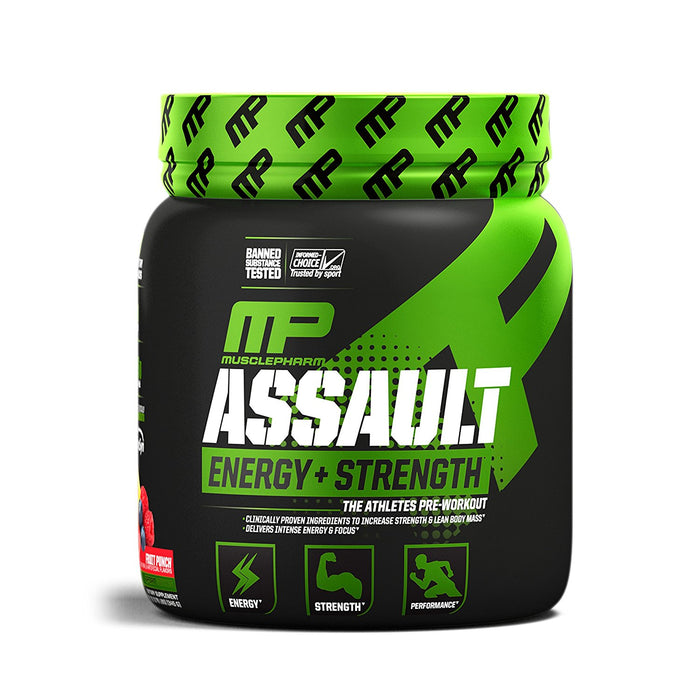 MusclePharm Assault Sport Pre-Workout Powder - fitness trends