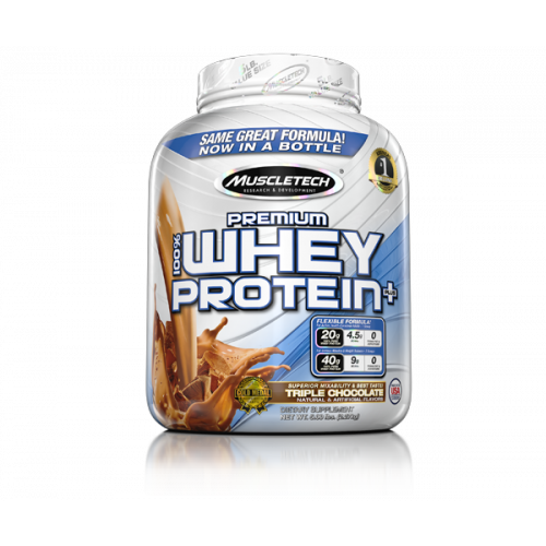 Muscletech Premium 100% Whey Protein Plus, 5lbs - fitness trends