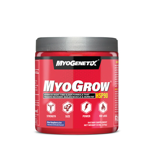MYOGENETIX® MYOGROW® 7.9 Oz. (45 Servings) Blue Raspberry Ice Flavour
