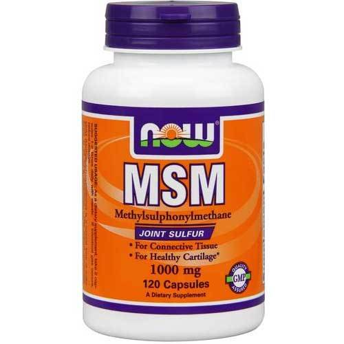 Now MSM, 1000mg