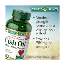 Nature's Bounty-Fish Oil 120-Softgel