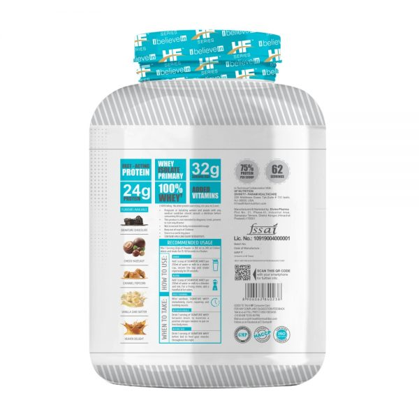 HF Series Signature Whey Protein – 2Kg