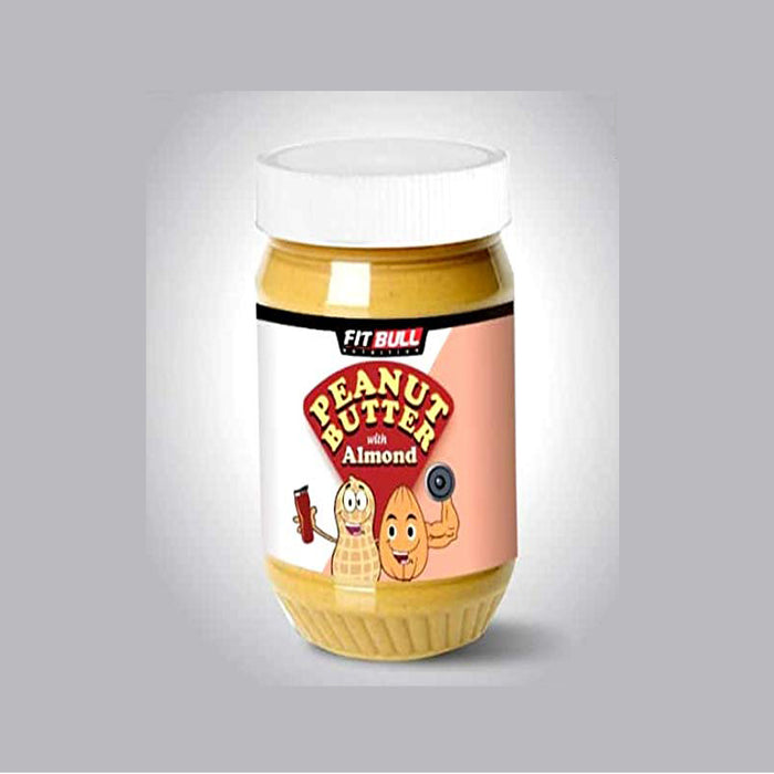 FITBULL PEANUT BUTTER WITH ALMOND (2.2LBS)