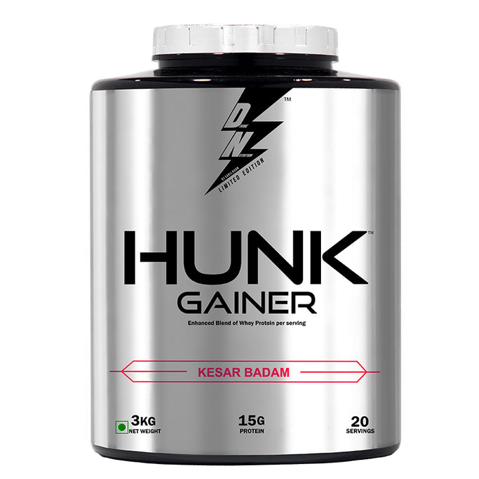 DIVINE NUTRITION HUNK GAINER