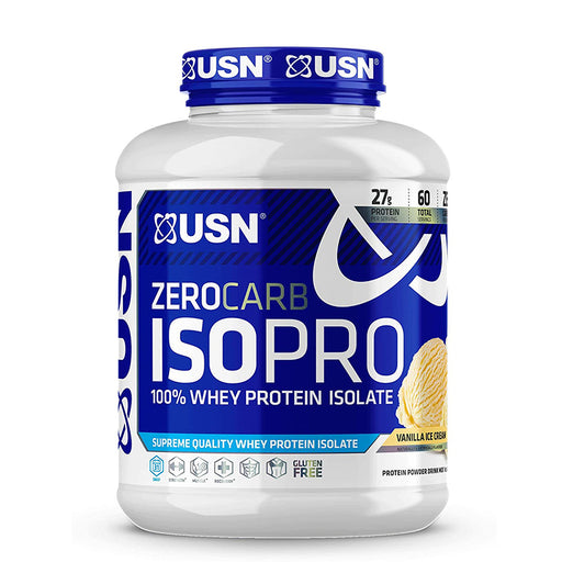 USN Supplements Zero Carb IsoPro Protein 4LBS