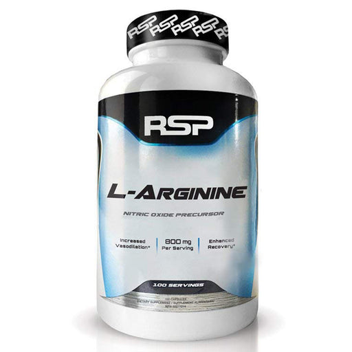 RSP Nutrition L-Arginine Muscle Pumps, Recovery and Vascularity - 100 Servings