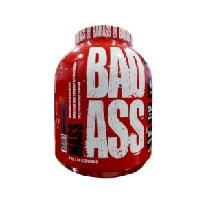 Bad Ass Mass Gainer, Serving 30, Net wt 3 Kg