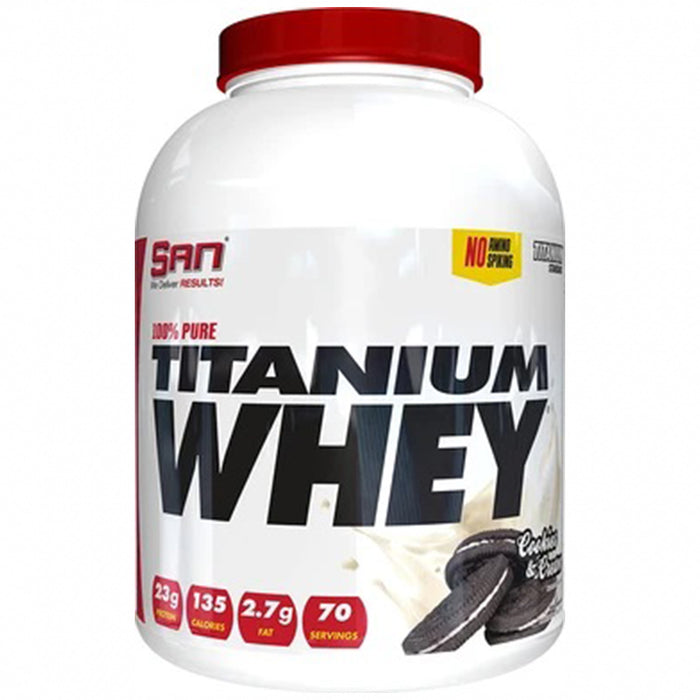 SAN Nutrition 100% Pure Titanium Whey Ptotein (75 Servings)