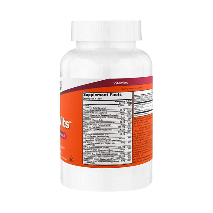 Now Foods Daily Vits Tablets - 100 Count