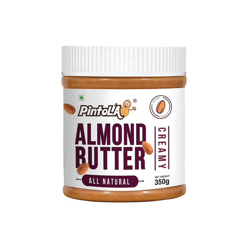Pintola All Natural Creamy Almond Butter, 350g