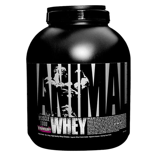 Universal Nutrition Animal Whey 4LB (Strawberry) - fitness trends