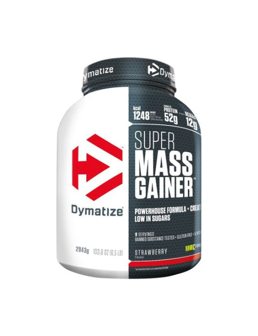 Dymatize Super Mass Gainer, Net WT 6LB (2.7kg), Serving (336g)