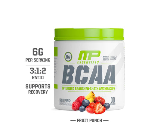 MP Essentials Bcaa, Serving 30, Net wt258g