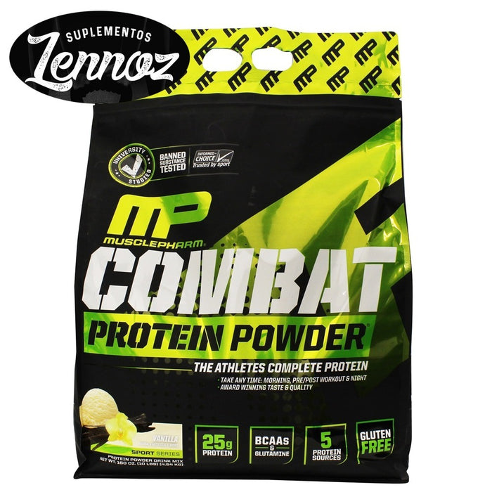 Muscle Pharm Combat Protein Powder 10 lbs Milk Chocolate
