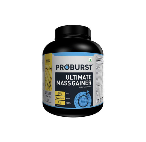 Proburst Ultimate Mass Gainer With 23 Vitamins & Minerals - 3kg, Serving320g