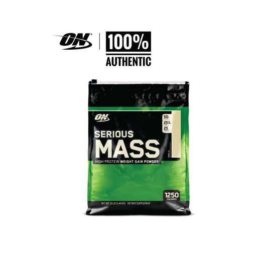ON - Serious Mass 5.44 kg, High Protein weight gainer powder