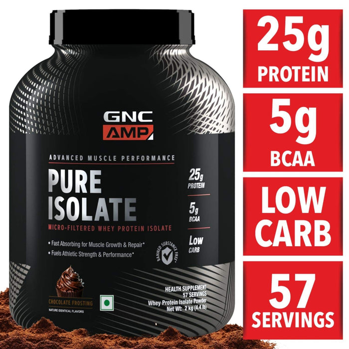 GNC- AMP_ Pure Isolate, Nt Wt 2kg