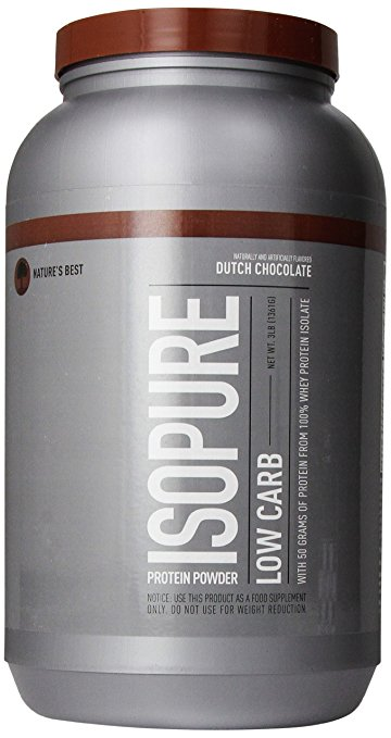 Isopure low Carb 100% Whey Protein Isolate - fitness trends