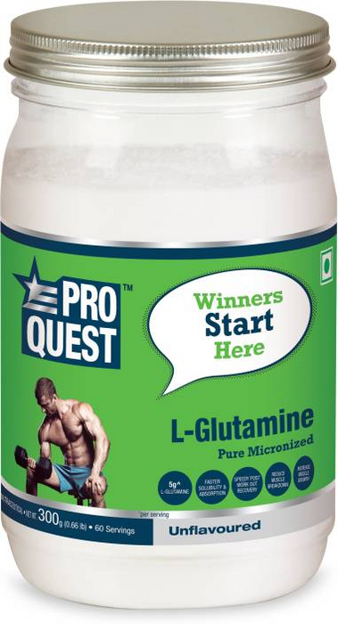 Proquest L-Glutamine, 300 g - fitness trends