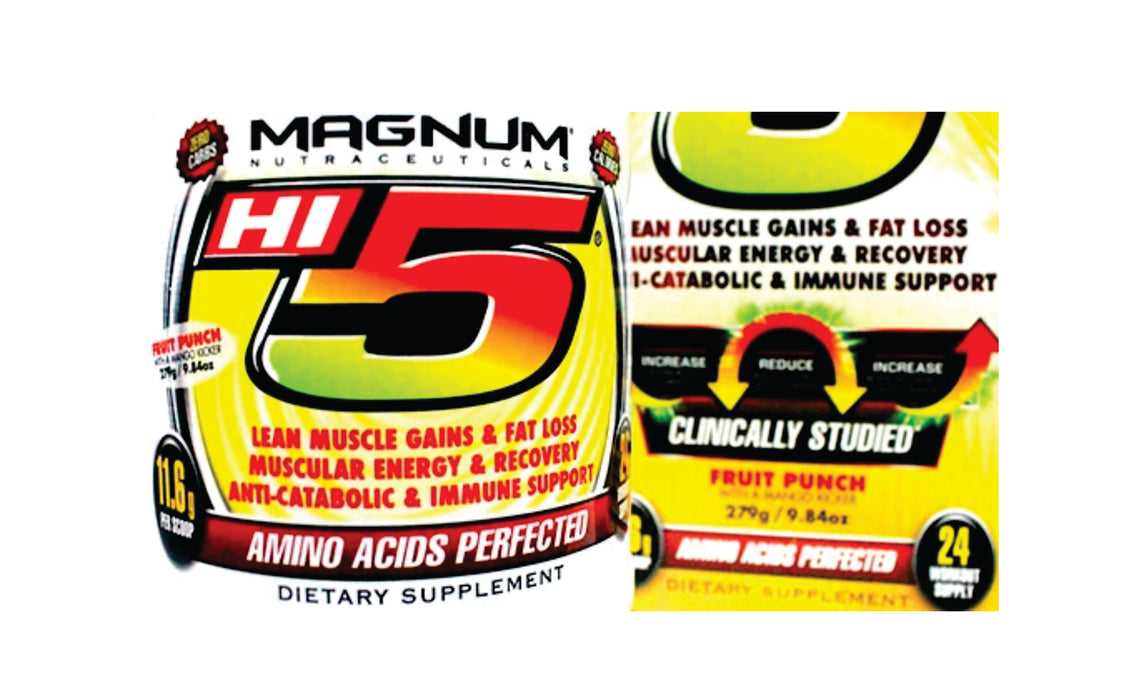 Magnum Nutraceuticals Hi5 Supplement , 279g