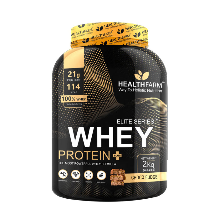 HealthFarm Whey Protein Plus – 2Kg, Serving 32g