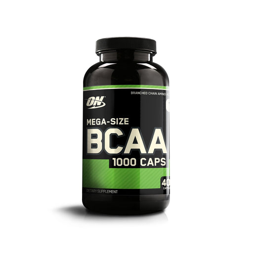 Optimum Nutrition (ON) BCAA Branched Chain Amino Acids 1000 mg - 400 Capsules - fitness trends