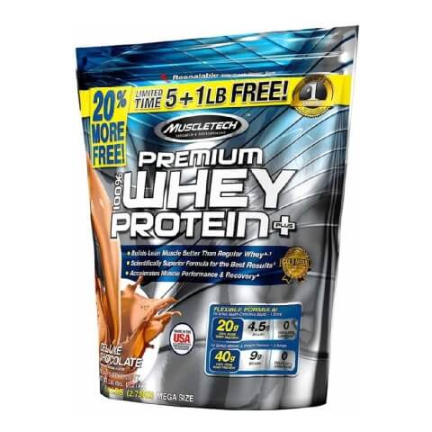 MuscleTech Premium 100% Whey Protein Plus, 6lbs - fitness trends