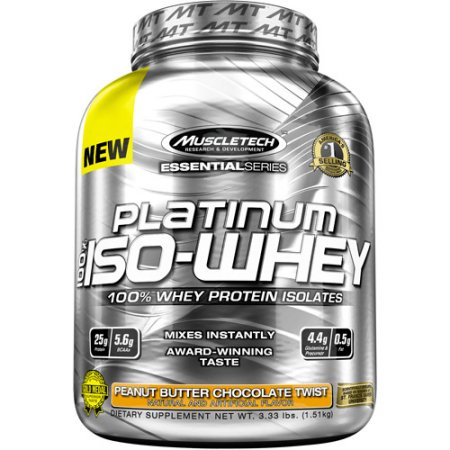 MuscleTech Platinum 100% Iso-Whey - fitness trends