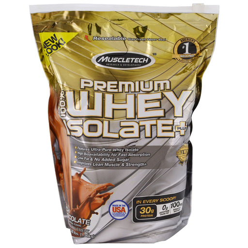 Muscletech Premium 100% Whey Isolate Plus Whey Protein