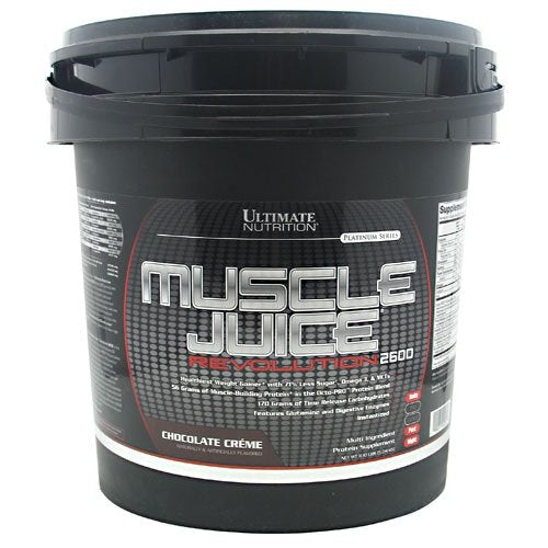 Ultimate Nutrition Muscle Juice Revolution 2600 - Chocolate Creme - 11.10 lbs - fitness trends
