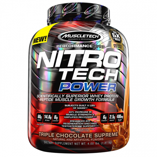 MuscleTech Performance Series NitroTech Power - fitness trends