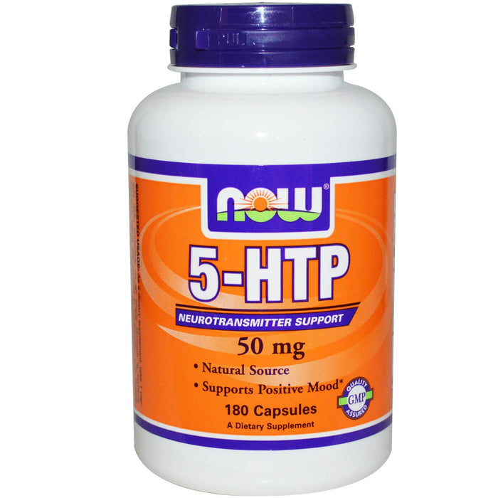 Now 5-HTP, 50mg - fitness trends