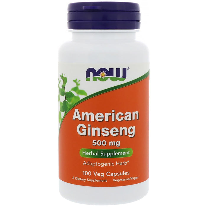 Now American Ginseng, 500mg - fitness trends