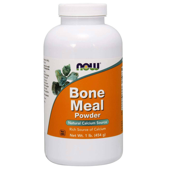 Now Bone Meal Powder, 1lb - fitness trends