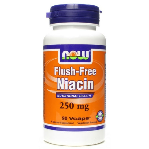 Now Flush-Free Niacin, 250mg - fitness trends