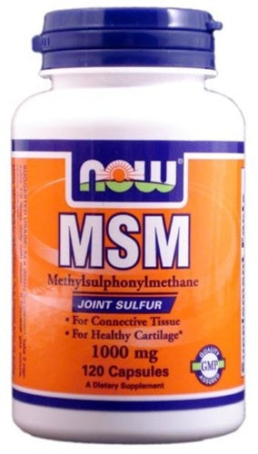 Now MSM, 1000mg - fitness trends
