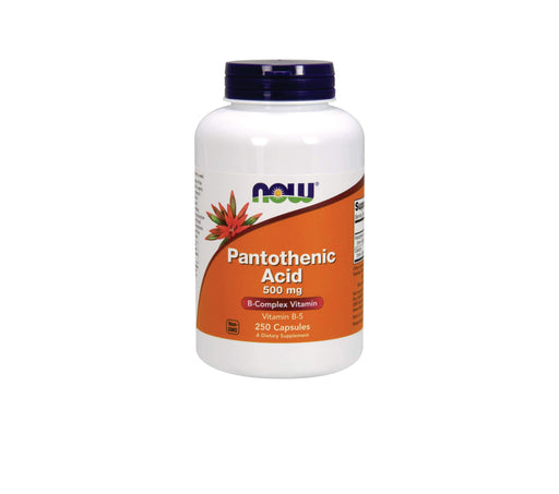 NOW-Pantothenic Acid 500mg