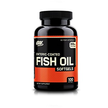 Optimum Nutrition (ON) Enteric-Coated Fish Oil - fitness trends