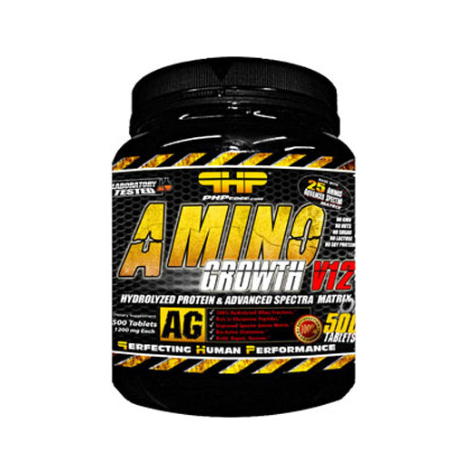 PHP-Amino Growth V12 500-Tab