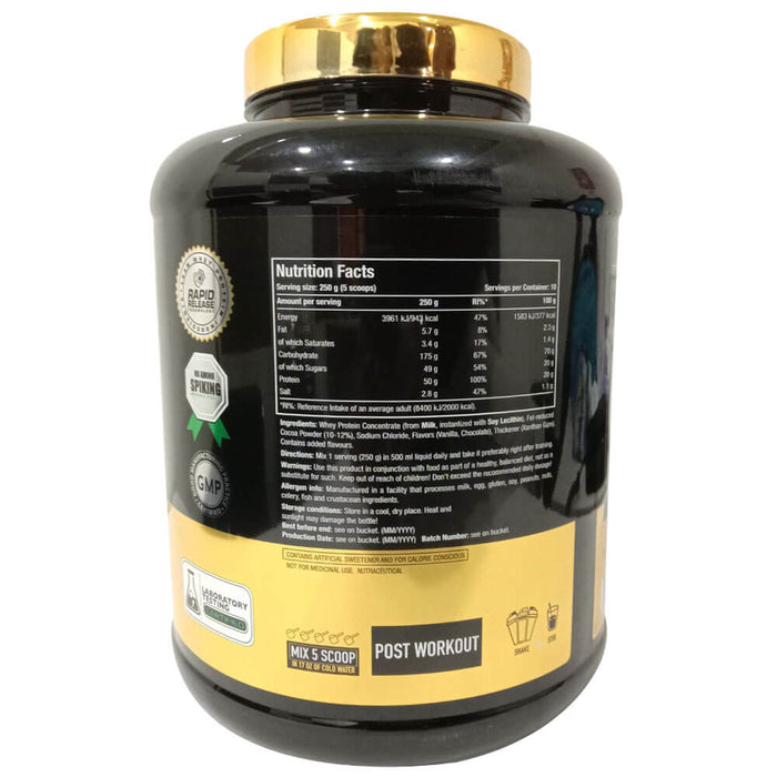 One Science Nutrition XL, Super Gainer, Serving 10 Net Wt 2500g