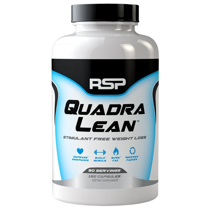 RSP Quadra Lean, 150 Capsules - fitness trends