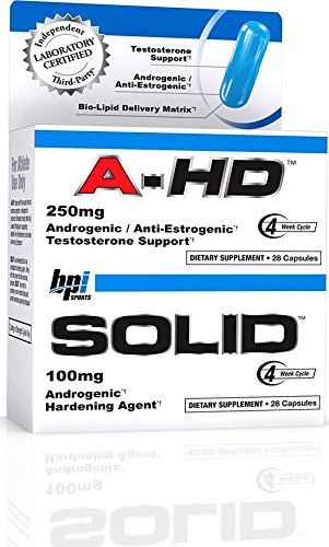 BPI Sports A-Hd Solid, 250 mg - fitness trends